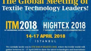 اسطنبول تستضيف المعرض الدولي للمنسوجات التقنية والحبكة
